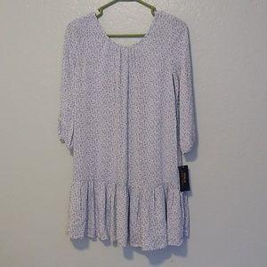 NWT Polo Ralph Lauren blue floral dress. Sz12
